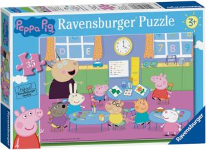 36 Month Plus age group Peppa Pig Classroom Jigsaw Puzzle - 8627 35 Piece