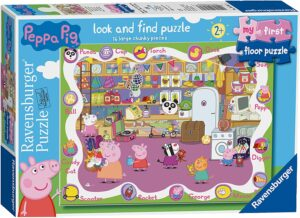 The Floor Puzzle First Jigsaw Puzzle for the Baby with 16 pcs of puzzle